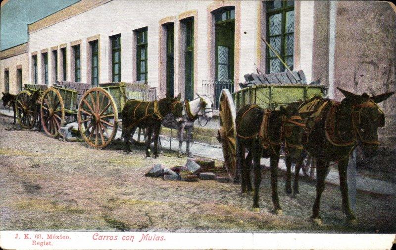 Carretas de mulas