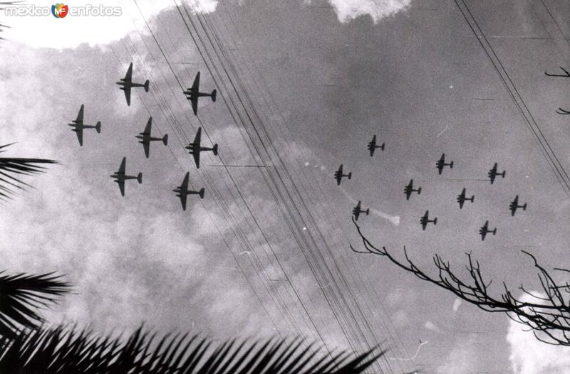 Desfile aéreo
