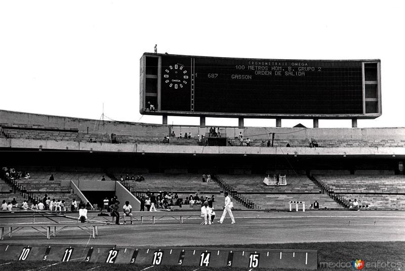 México 1968, Estadio Olímpico Universitario