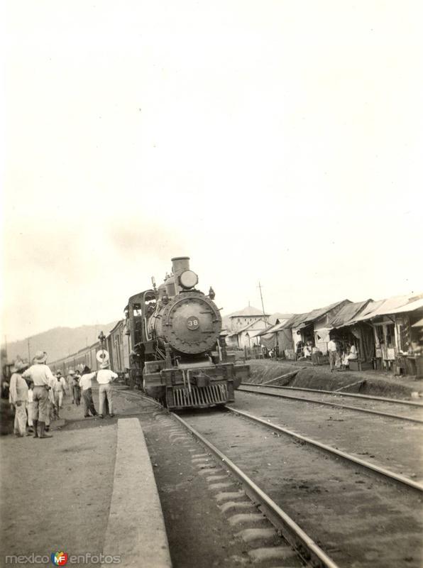 Estación del ferrocarril de Potrero (Congregación Miguel Alemán)