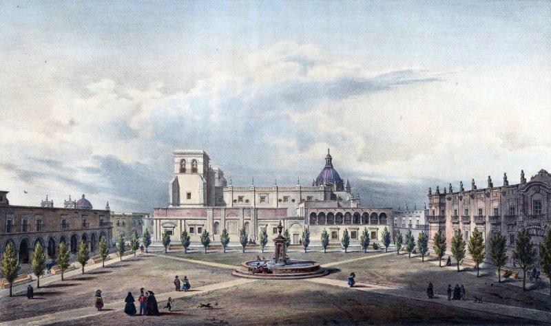 Plaza principal de Guadalajara