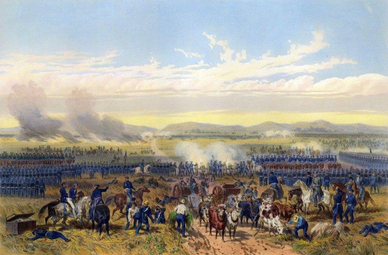 Invasión estadounidense de 1847: Batalla de Palo Alto