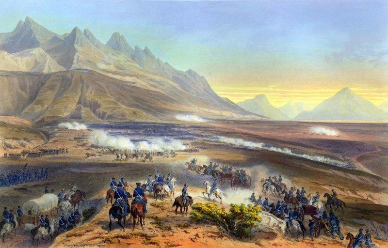 Invasión estadounidense de 1847: Batalla de Buenavista
