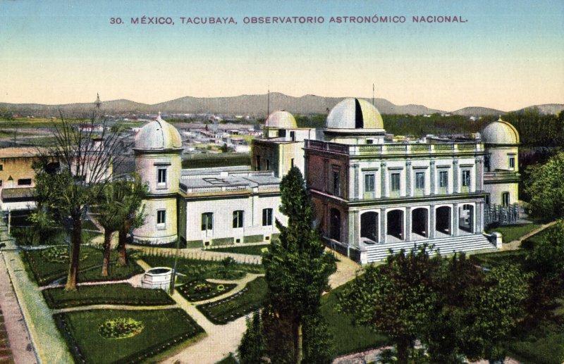 Observatorio Astronómico Nacional, en Tacubaya