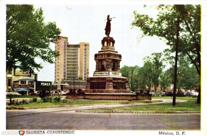 Glorieta a Cuauhtémoc
