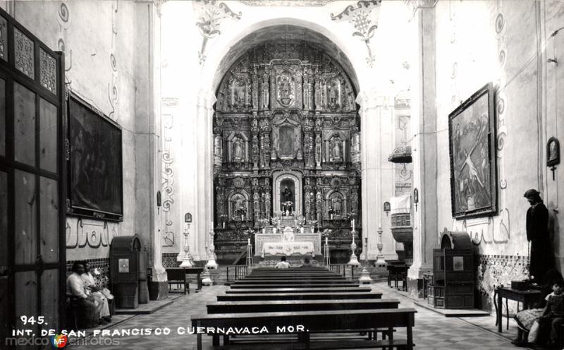 Interior del Templo de San Francisco