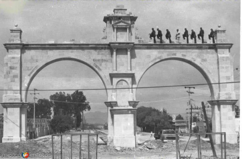 Construccion de los Arcos