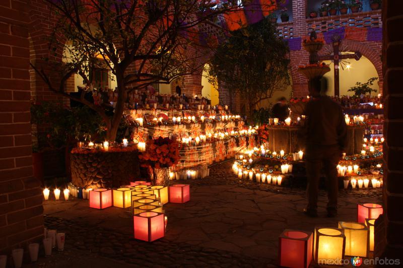 Fotos de Chignahuapan, Puebla, M�xico: FESTIVAL DE LA LUZ Y DE LA VIDA.