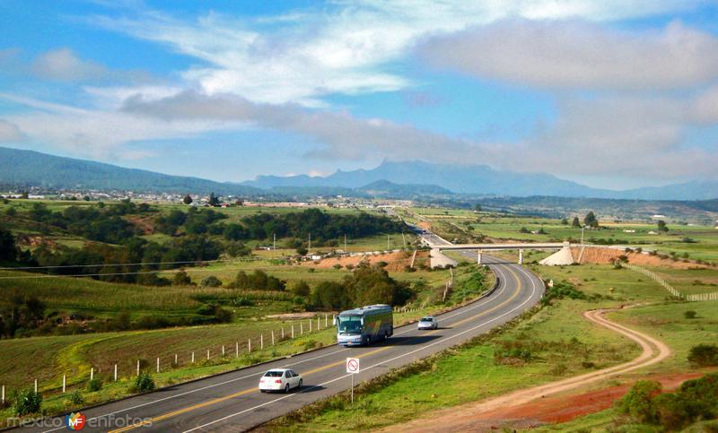 Autopista de acceso a Chignahuapan, Puebla