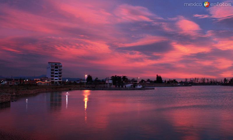 Laguna Chignahuapan al amanecer