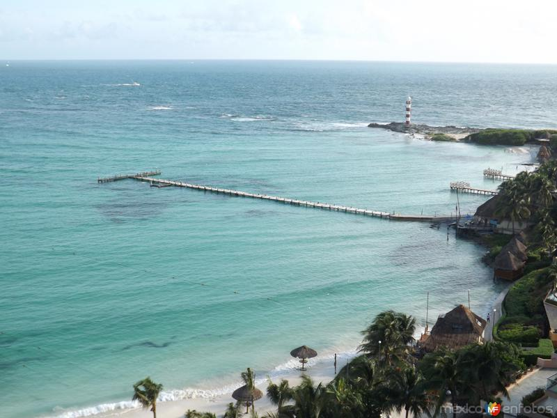 Fotos de Canc�n, Quintana Roo, M�xico: El faro de Punta Canc�n. Noviembre/2013
