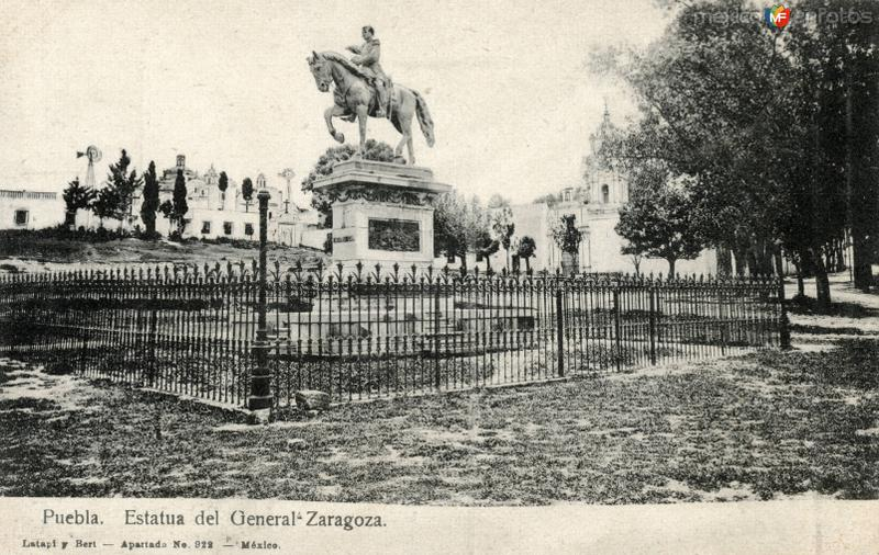 Estatua del General Zaragoza