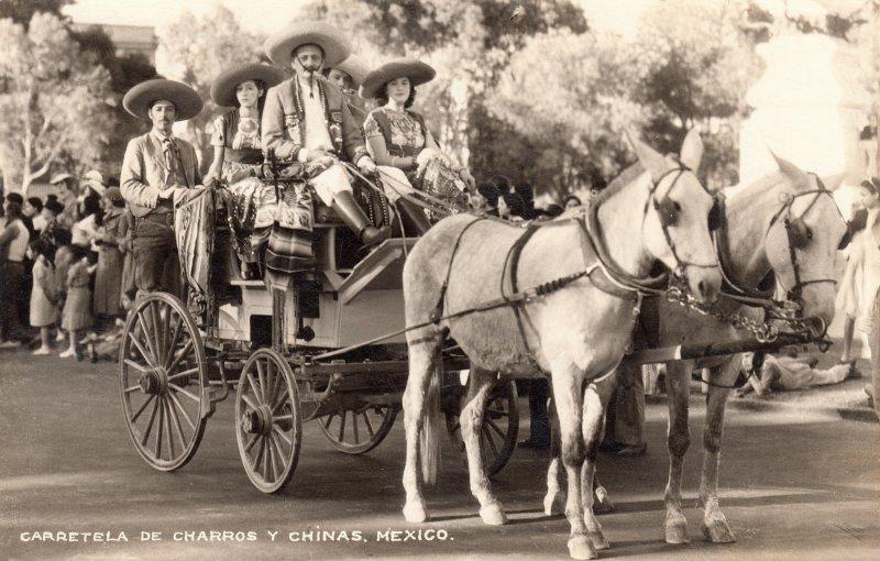 Carreta de Charros y Chinas Poblanas