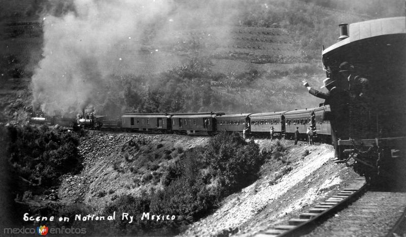 Vista del Ferrocarril Nacional