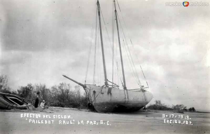 Efectos del ciclón de 1918