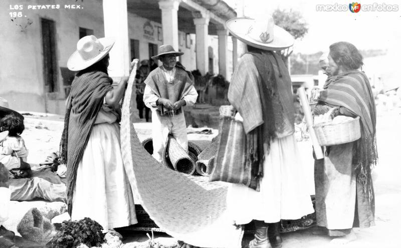 Vendedores de petates