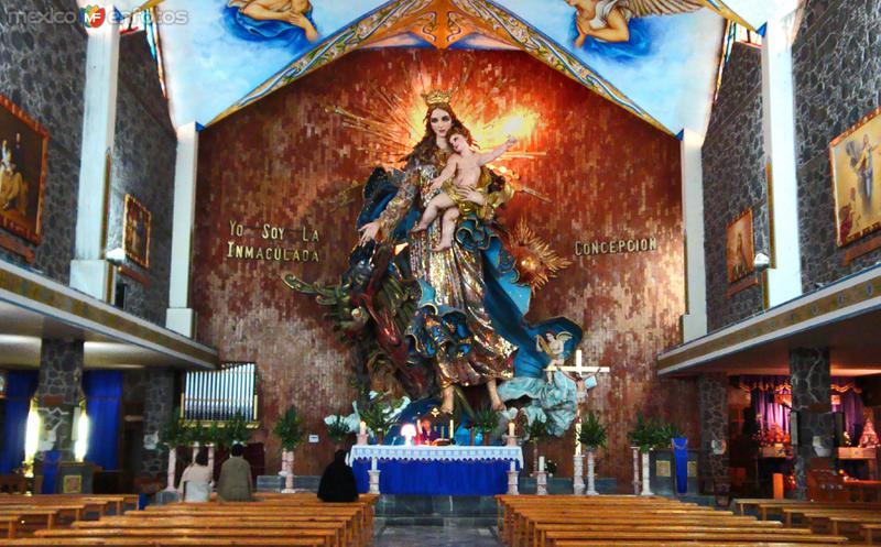 La magnífica belleza de la Virgen de La Inmaculada Concepción