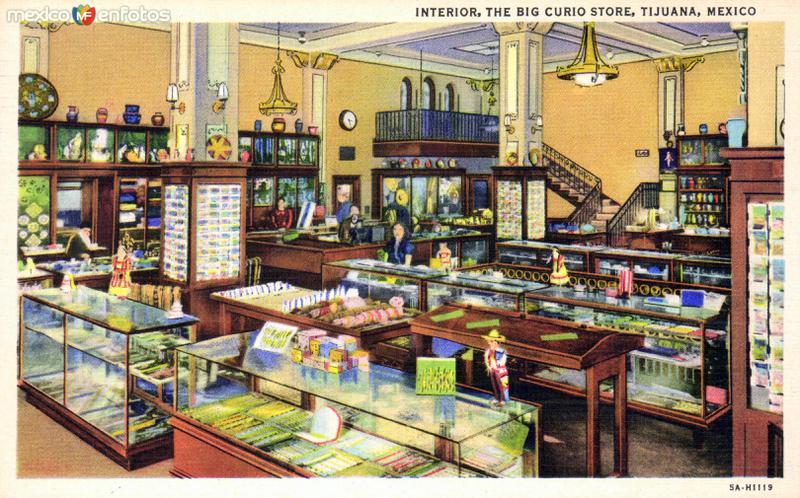 Interior de The Big Curio Store