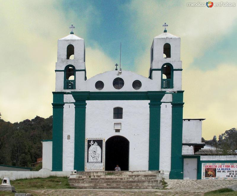 Fotos de Agua Blanca de Iturbe, Hidalgo, M�xico: Iglesia