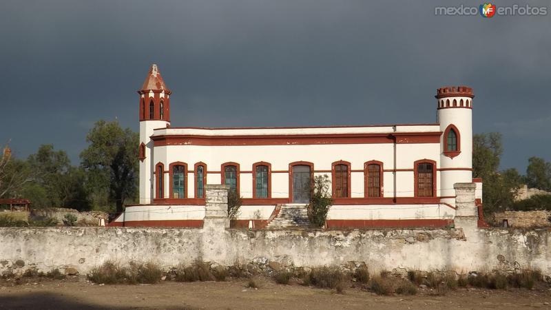 Casa Grande del antigüo Mineral de Santa Brígida. Abril/2014