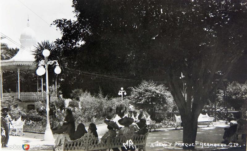 Jardin y Plaza