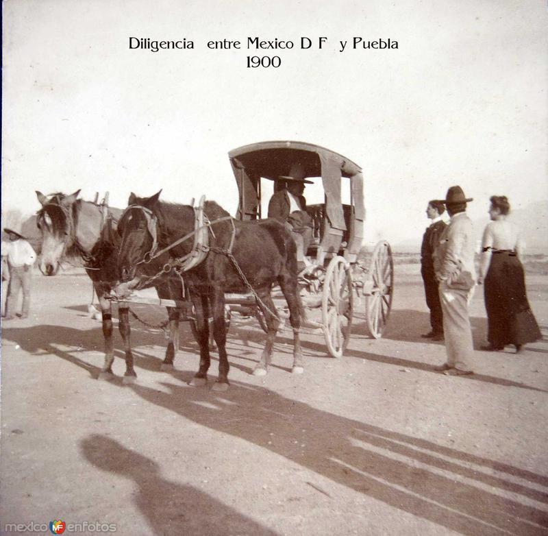 Diligencia 1900