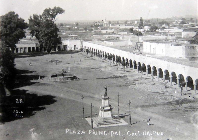 Plaza Principal 1900