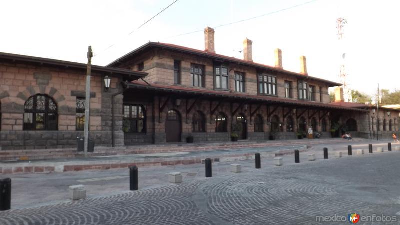 Antigüa estación de ferrocarril. Santiago de Querétaro. Abril/2014