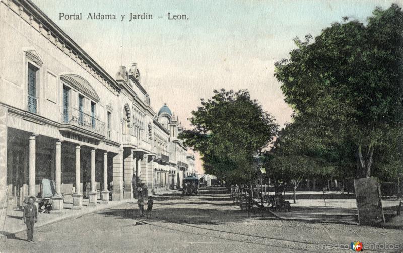 Portal Aldama y Jardín