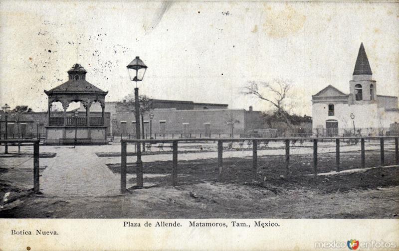 Fotos de Matamoros, Tamaulipas, México: Plaza de Allende