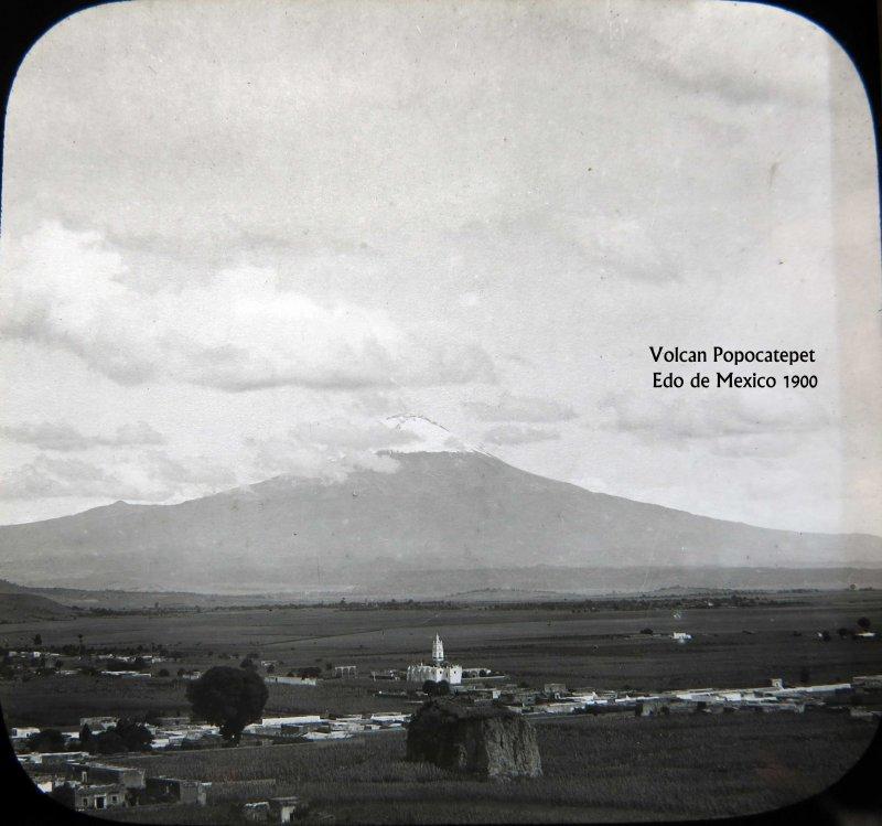 Volcan Popocatepetl 1909