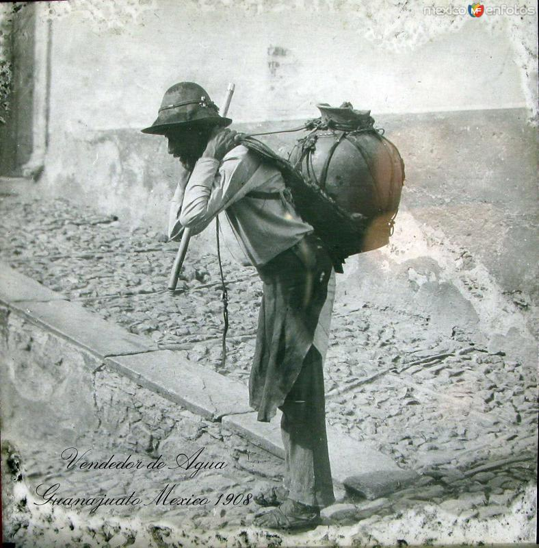 Vendedor de Agua 1909