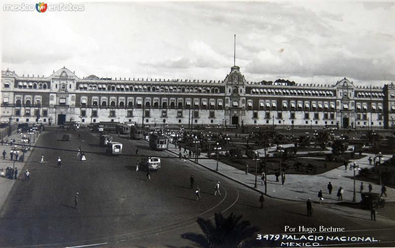 Palacio Nacional por HUGO BREHME