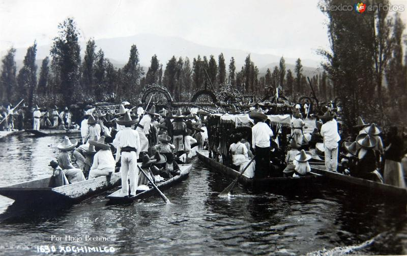 Xochimilco por; HUGO BREHME Bellisima