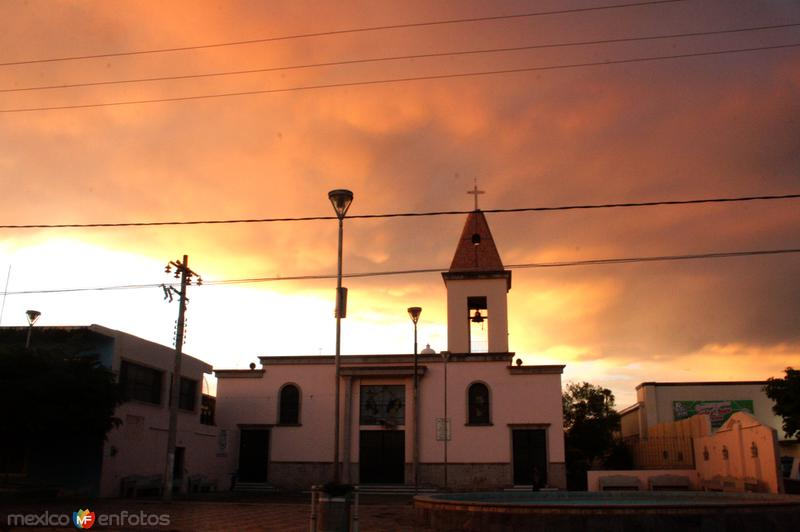 Templo de San Sebastian de Sayula Jalisco.