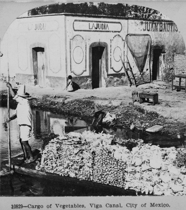 Vendedores de VegetalesCanal de la Viga 1900