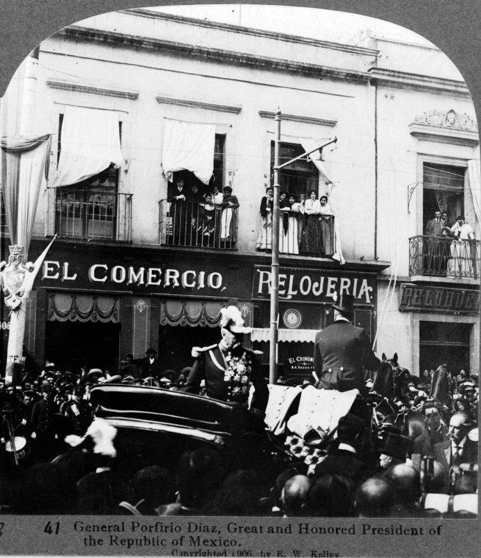 Porfirio Diaz en Campana 1900
