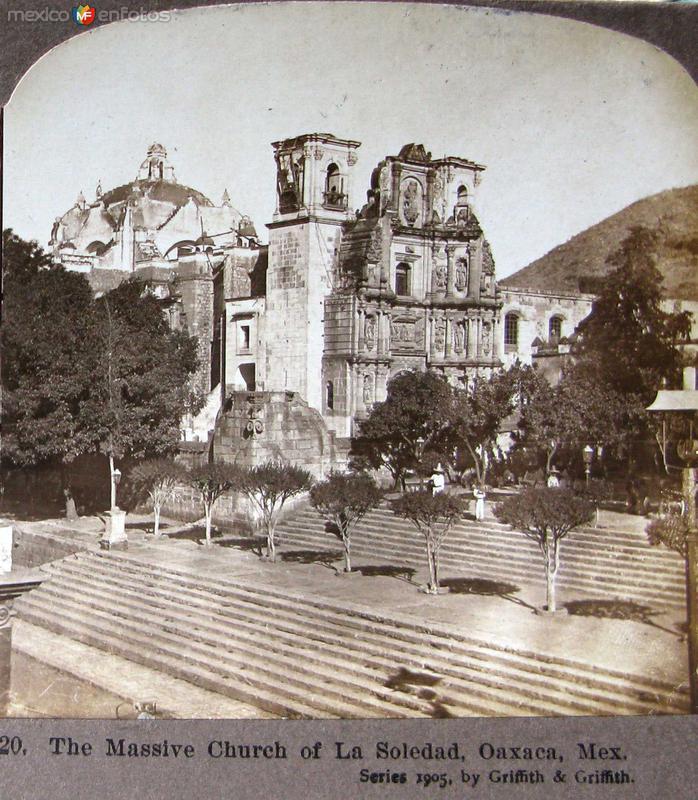 Iglesia de la Soledad Hacia 1900