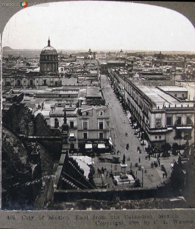 Vista desde La Catedral Hacia 1900