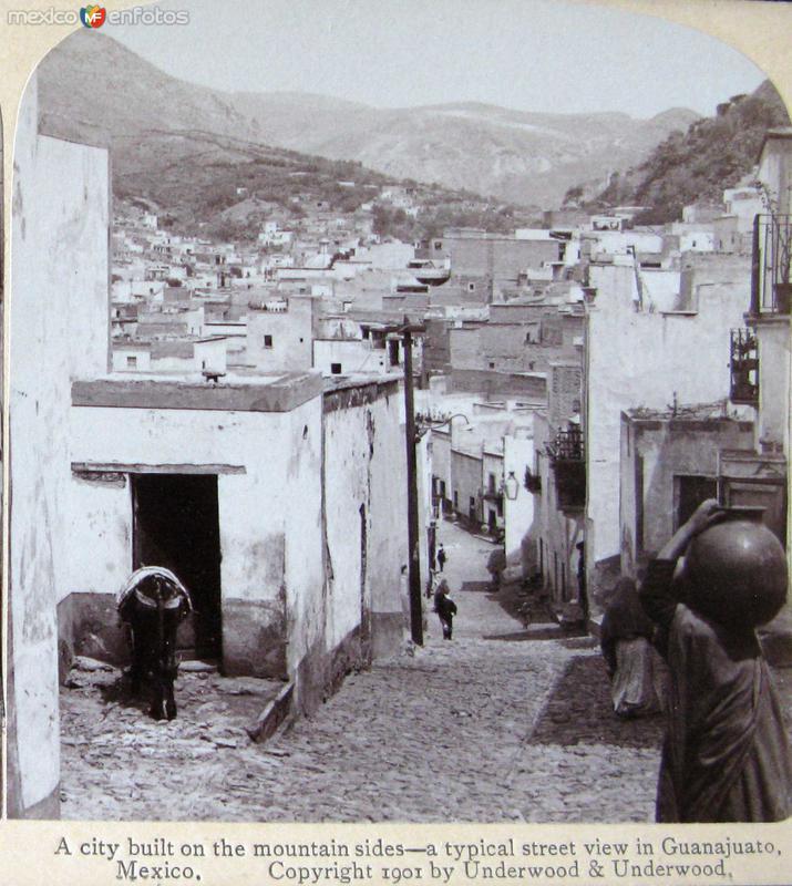 Calle Tipica Hacia 1900