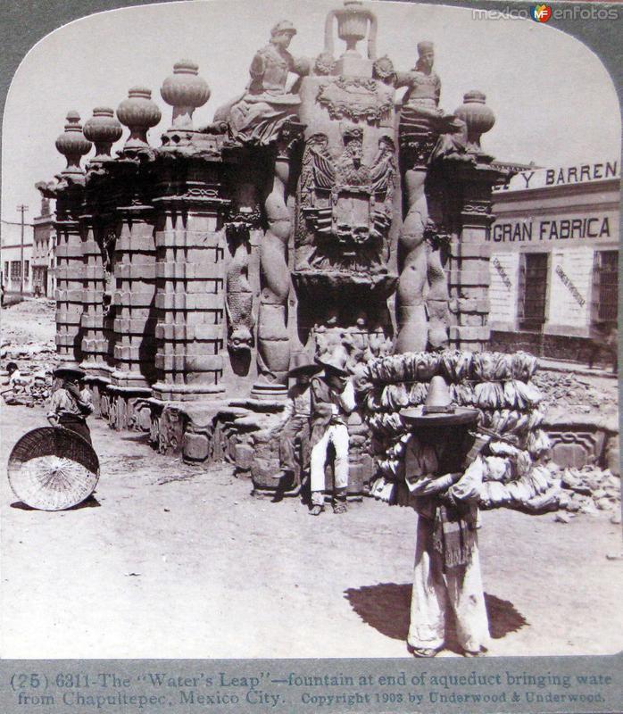 Fuente del Salto del Agua Hacia 1900