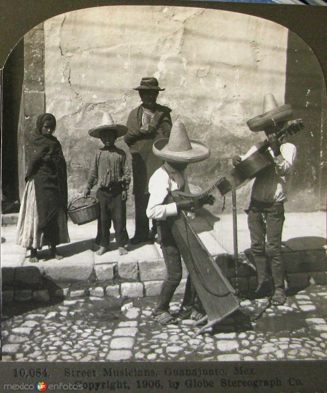 Musicos Callejeros Hacia 1900