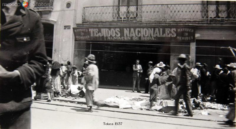 Escena Cotidiana Toluca 1937