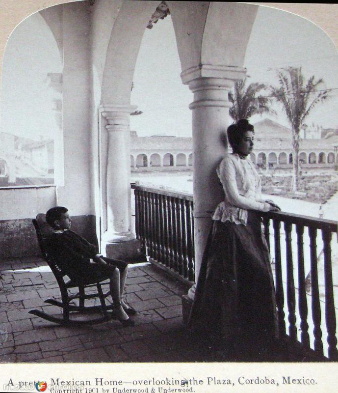 Fotos de C�rdoba, Veracruz, M�xico: Una Casa  1900