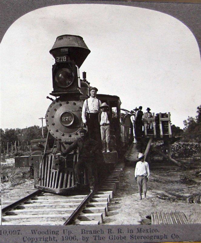 Ferrocarril mexicano Hacia 1909