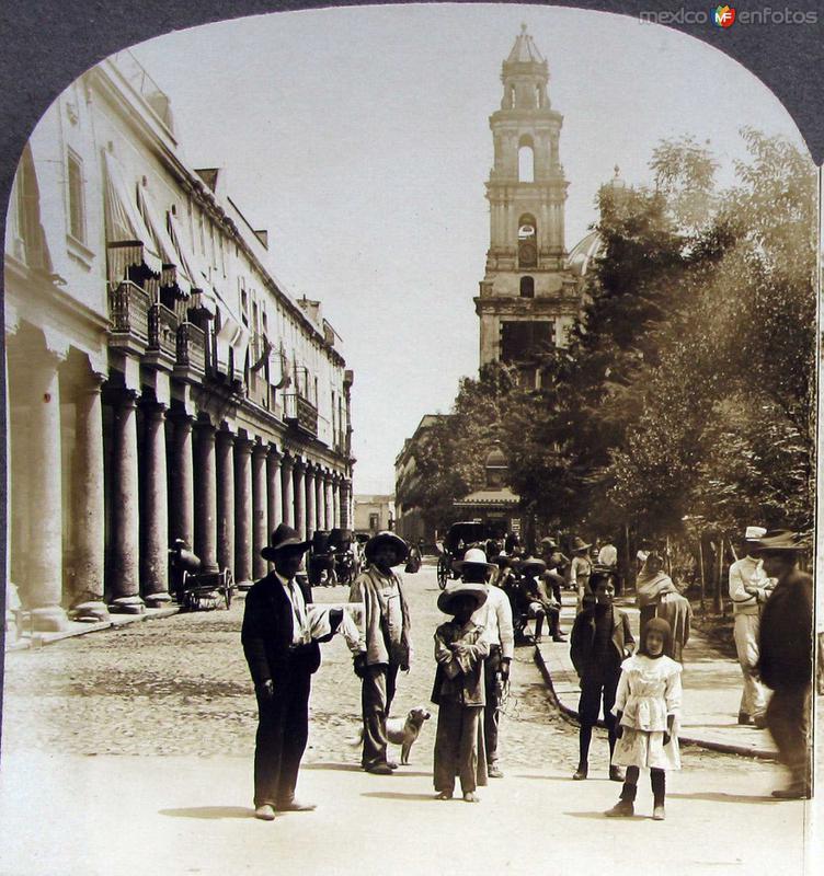 Plaza de Santo Domingo Hacia 1909