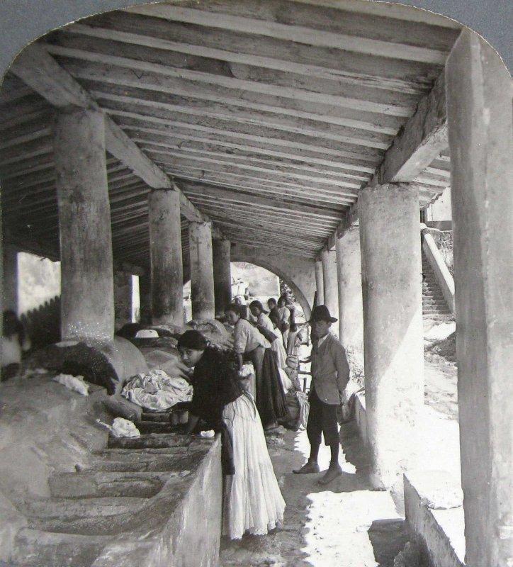 Fotos de Xalapa, Veracruz, M�xico: Lavanderia Publica Hacia 1909