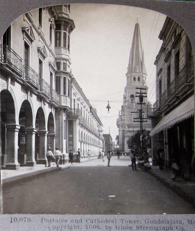 Torres de Catedral hacia 1909