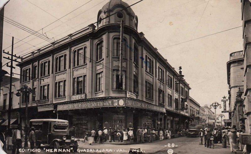 Edificio hernan hacia 1945