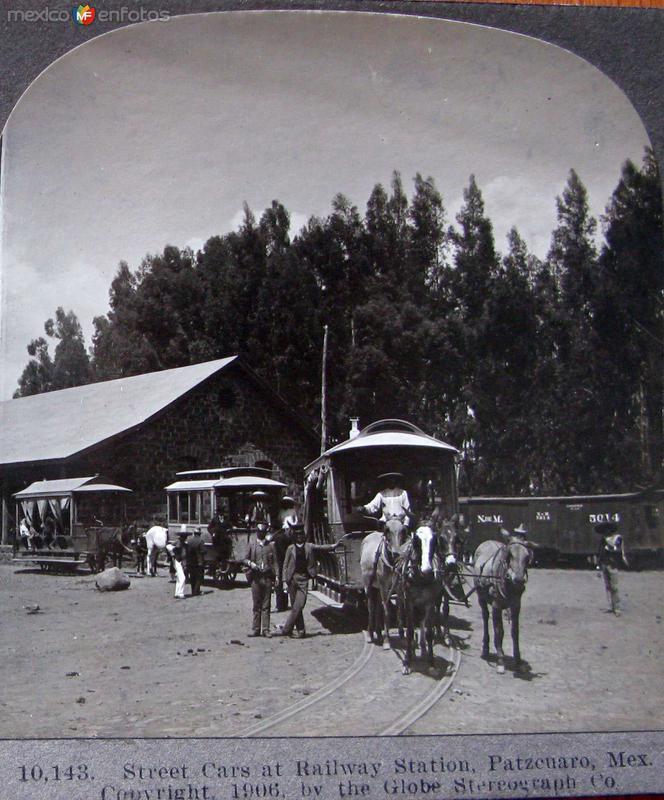 Estacion Ferroviaria hacia 1909